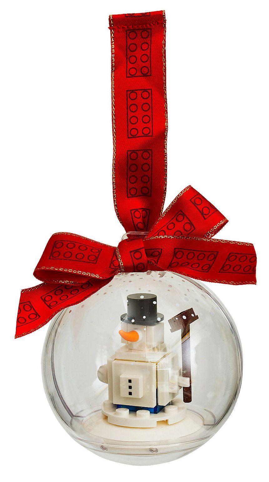 Lego saisonnier 853670 pas cher d coration de no l - Bonhomme de neige decoration exterieure ...