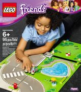 LEGO Friends 853671 Tapis de jeu Heartlake City