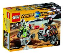 LEGO World Racers 8896 Le canyon du serpent