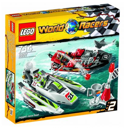 LEGO World Racers 8897 Course en pleine mer