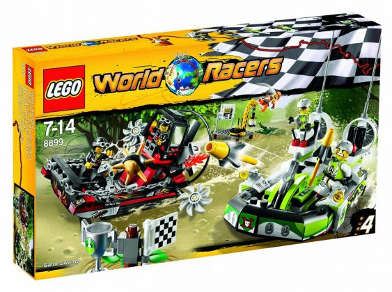 LEGO World Racers 8899 Le marais aux crocodiles