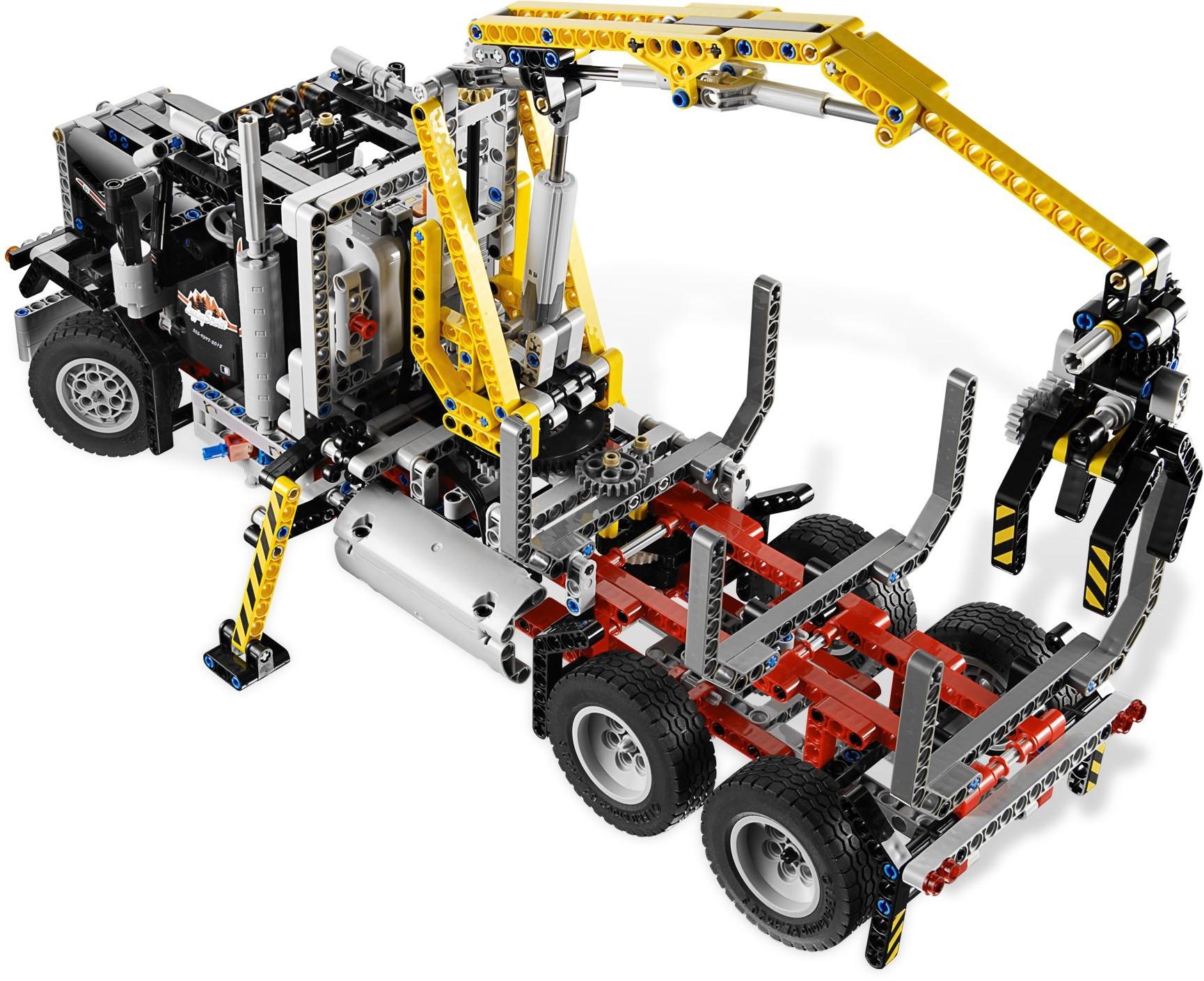 lego technic 9397 pas cher le camion forestier. Black Bedroom Furniture Sets. Home Design Ideas