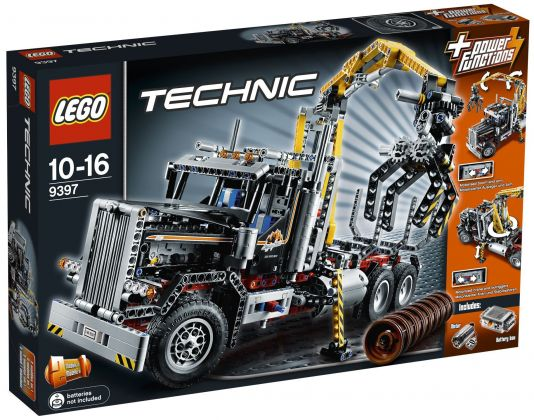 LEGO Technic 9397 Le camion forestier