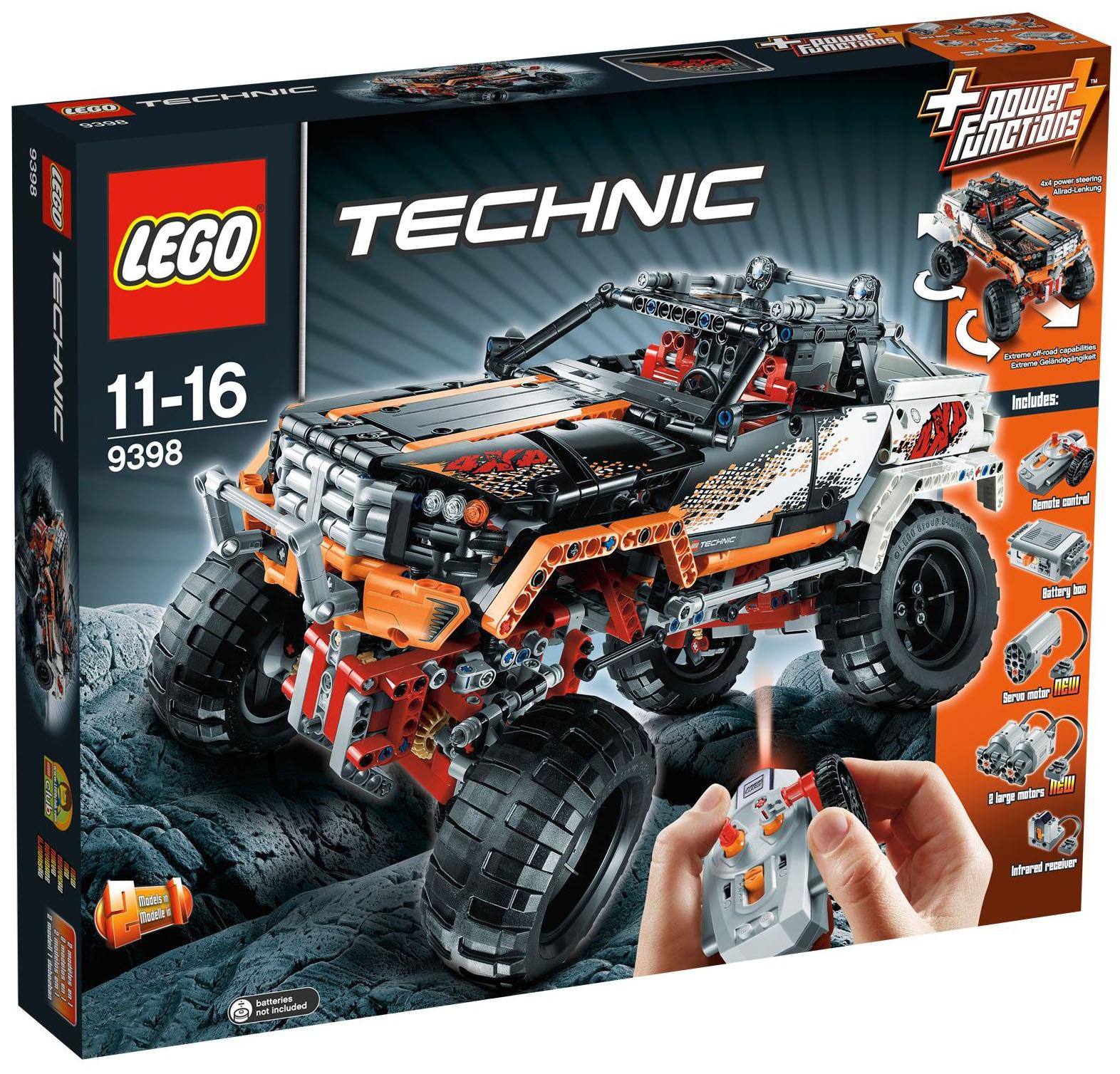 lego technic 9398 pas cher le 4x4 crawler. Black Bedroom Furniture Sets. Home Design Ideas
