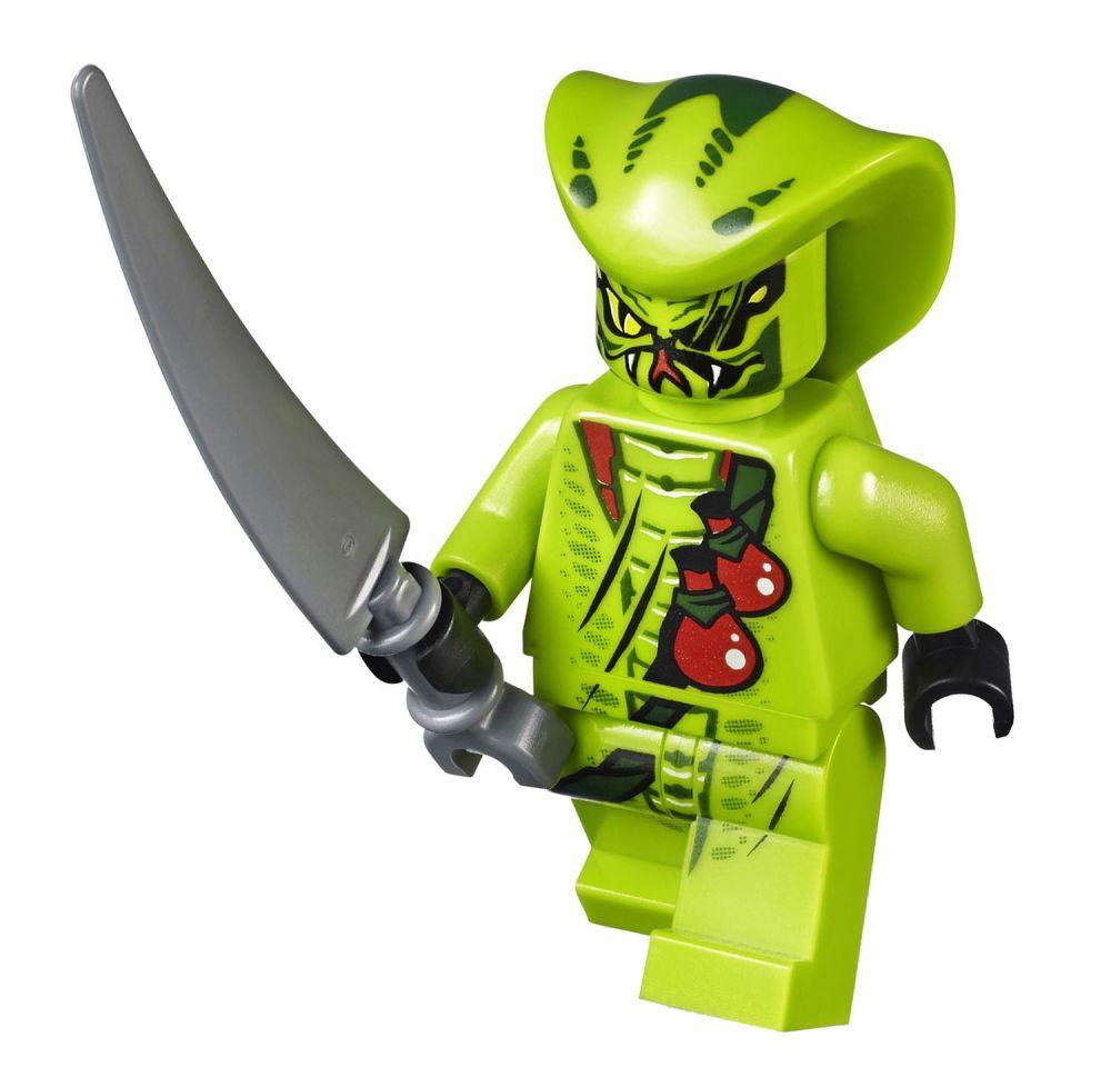 Lego ninjago 9447 pas cher la moto serpent de lasha - Serpent lego ninjago ...