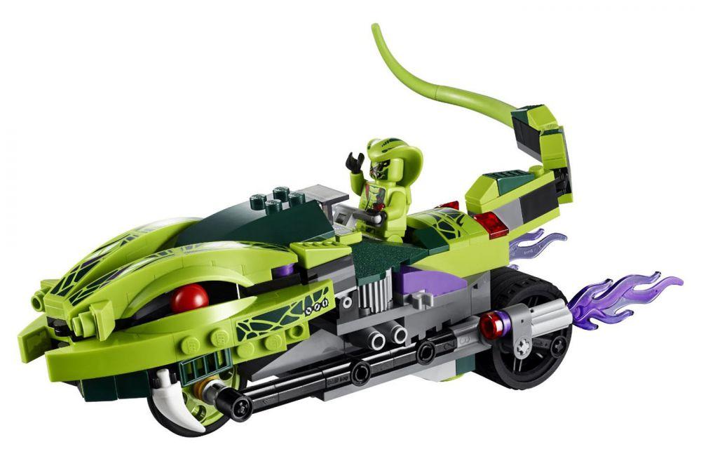 lego ninjago 9447 pas cher la moto serpent de lasha. Black Bedroom Furniture Sets. Home Design Ideas