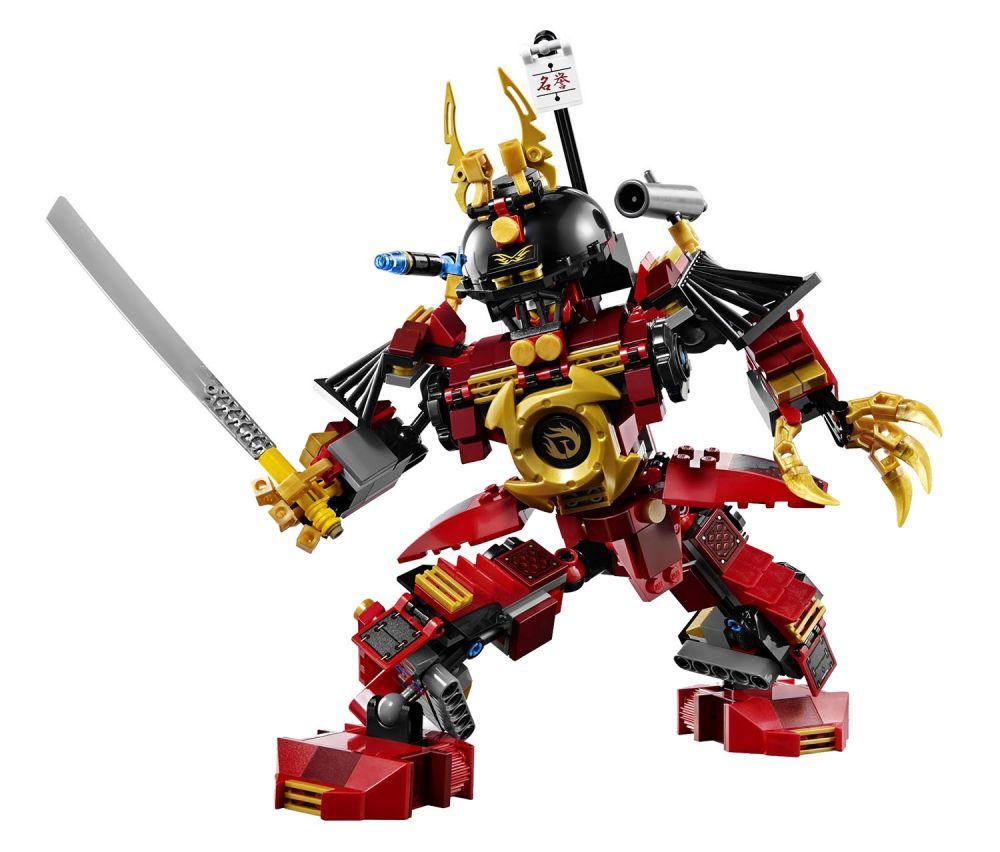 Lego ninjago 9448 pas cher le robot samoura - Lego ninjago d or ...