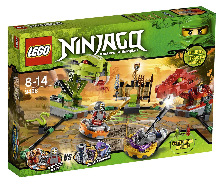 Lego Ninjago 9456 Pas Cher Le Combat De Toupies