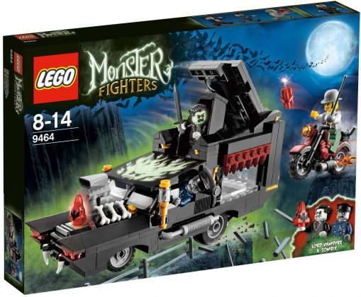 LEGO Monster Fighters 9464 Le corbillard du vampire