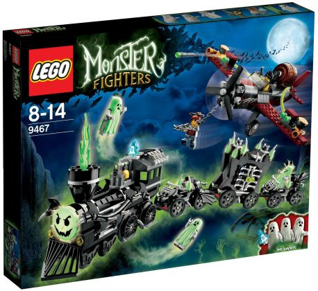 LEGO Monster Fighters 9467 Le Train Fantôme