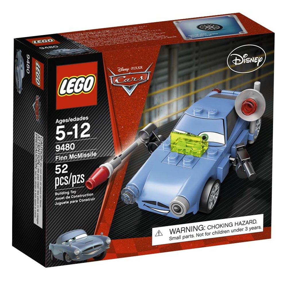 Cars Finn Lego 9480 Cars Lego Finn Mcmissile 9480 Mcmissile Lego doeWrxBC
