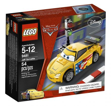 LEGO Cars 9481 Jeff Gorvette