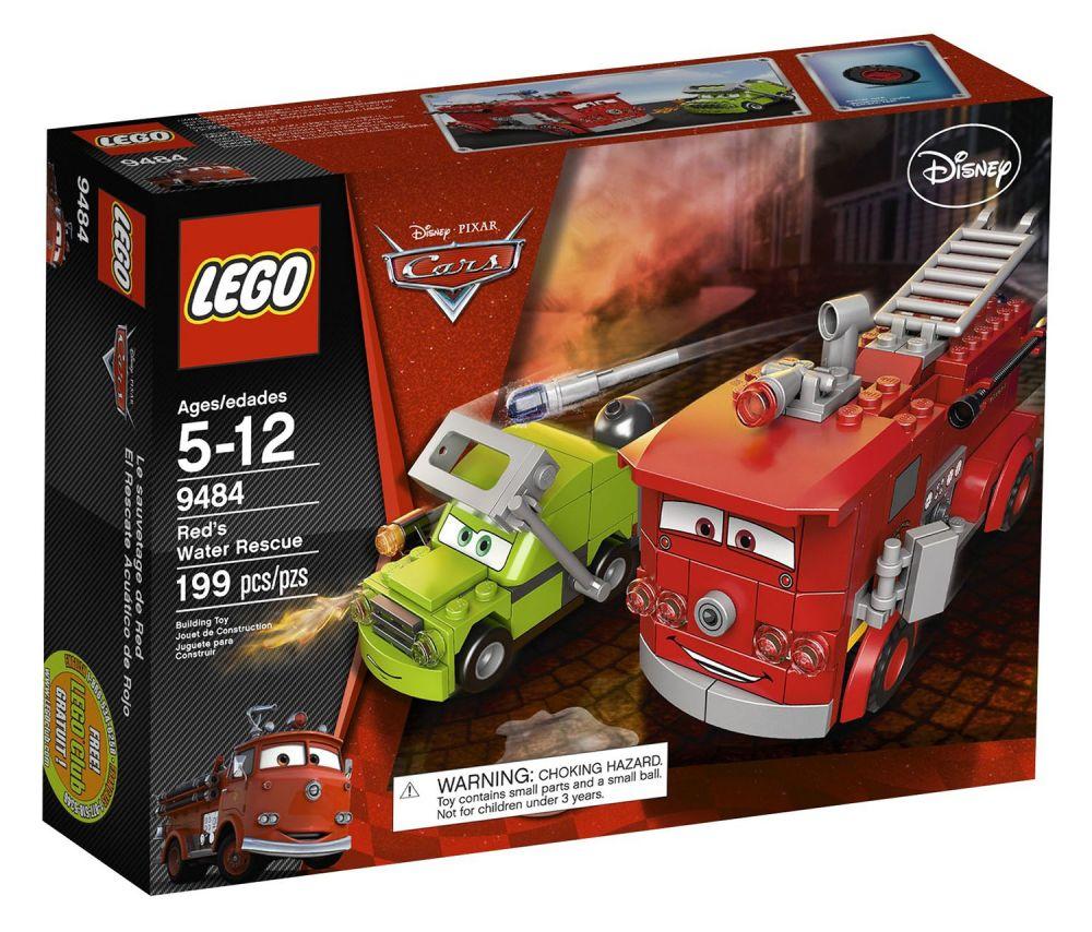 Le Red Sauvetage Cars Lego 9484 De e29WHEDIY