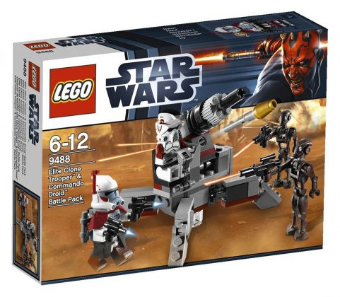 LEGO Star Wars 9488 Les ARC Trooper et le commando droïde