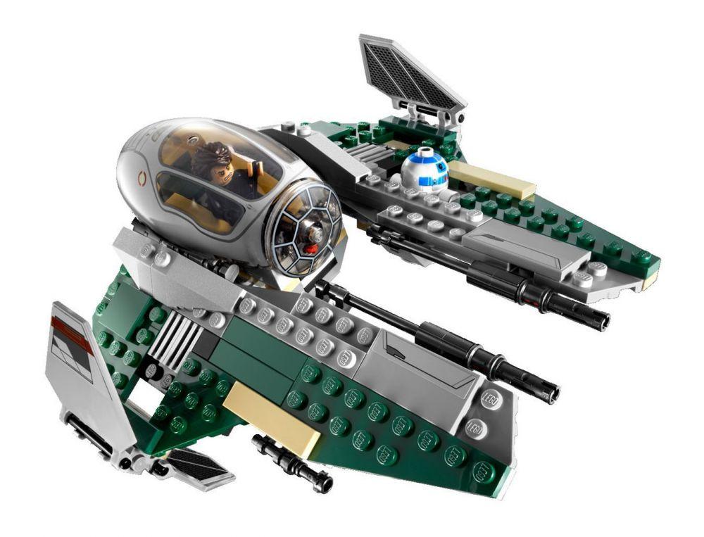Lego star wars 9494 pas cher le jedi interceptor d 39 anakin - Lego star wars vaisseau anakin ...