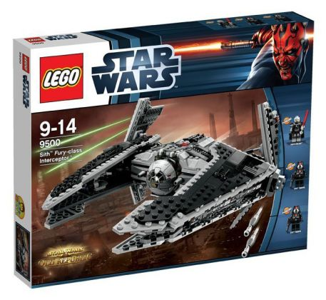 LEGO Star Wars 9500 Sith Fury-class Interceptor