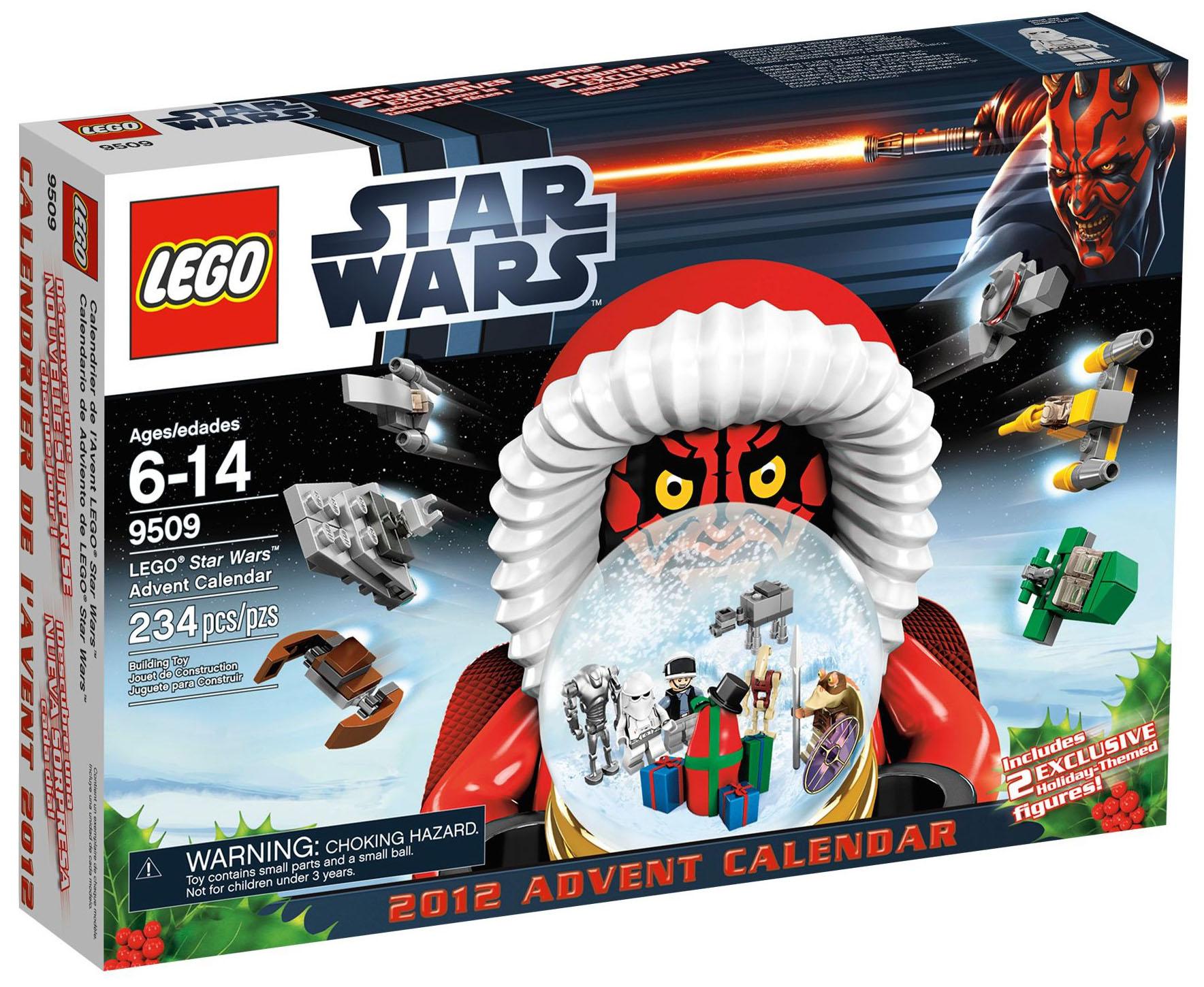 Lego saisonnier 9509 pas cher le calendrier de l 39 avent - Calendrier de l avent pas cher ...