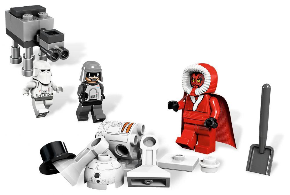 lego saisonnier 9509 pas cher - le calendrier de l'avent lego star