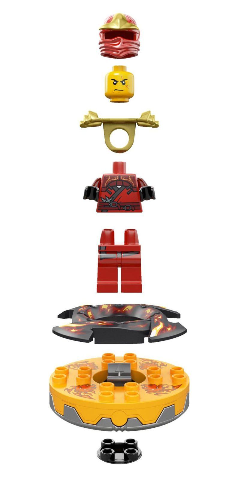 Lego ninjago 9561 pas cher kai zx - Ninjago lego kai ...