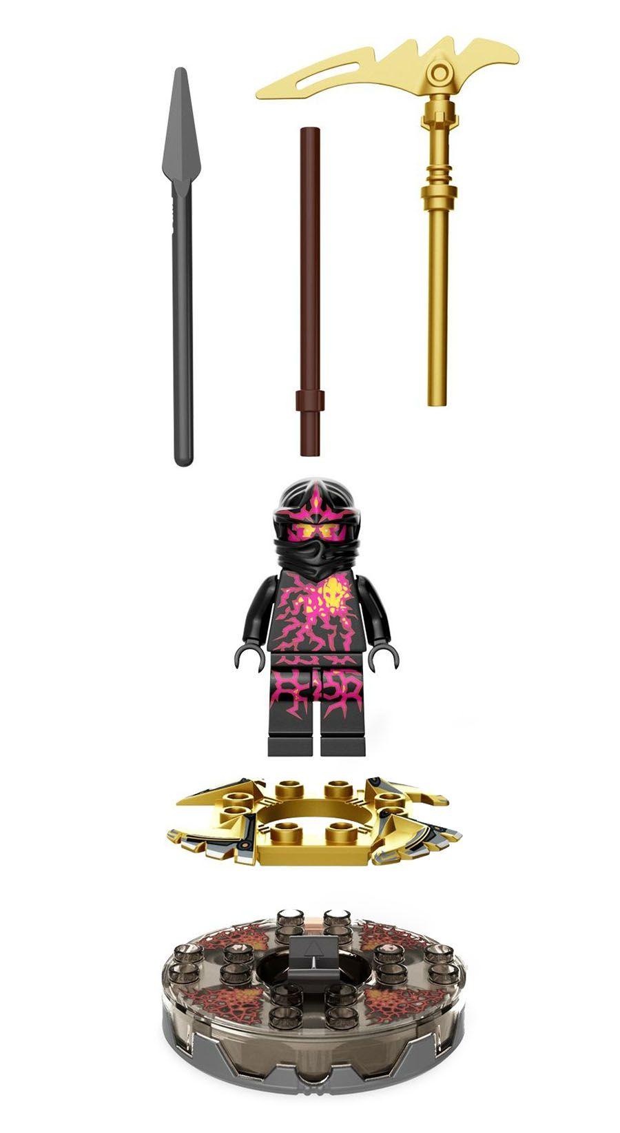 lego ninjago 9572 pas cher nrg cole