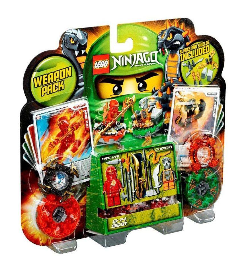 Lego ninjago 9591 pas cher ensemble d 39 armes - Lego ninjago d or ...