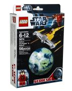LEGO Star Wars 9674 - Naboo Starfighter & Naboo pas cher