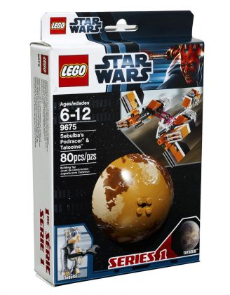LEGO Star Wars 9675 Sebulba's Podracer & Tatooine