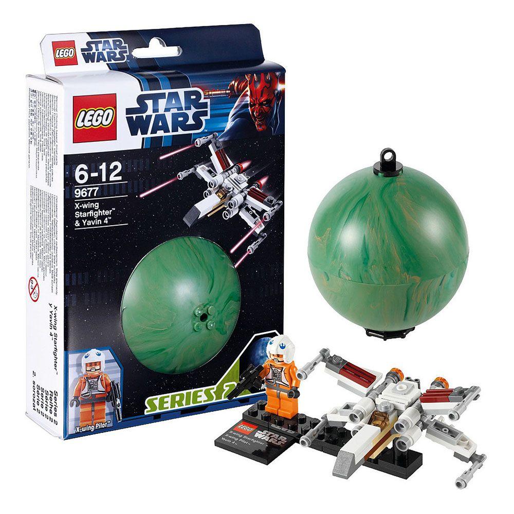 LEGO Star Wars 9677 X-wing Starfighter & Yavin 4 ...