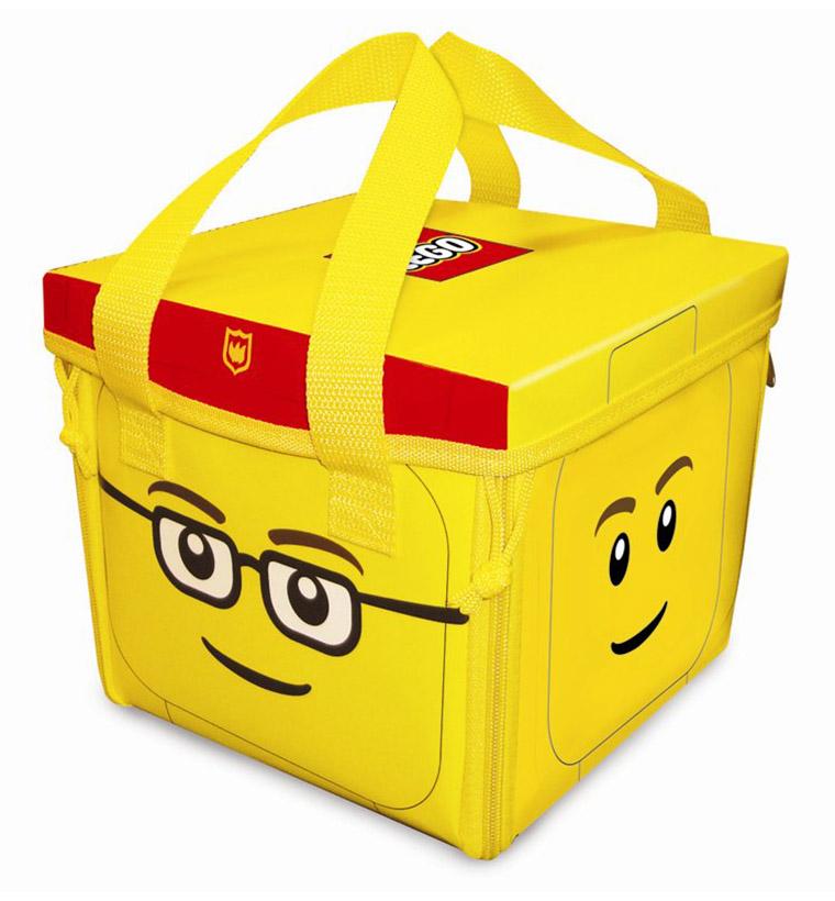 Lego rangement a1354xx pas cher city zipbin sac de - Caisse de rangement lego ...