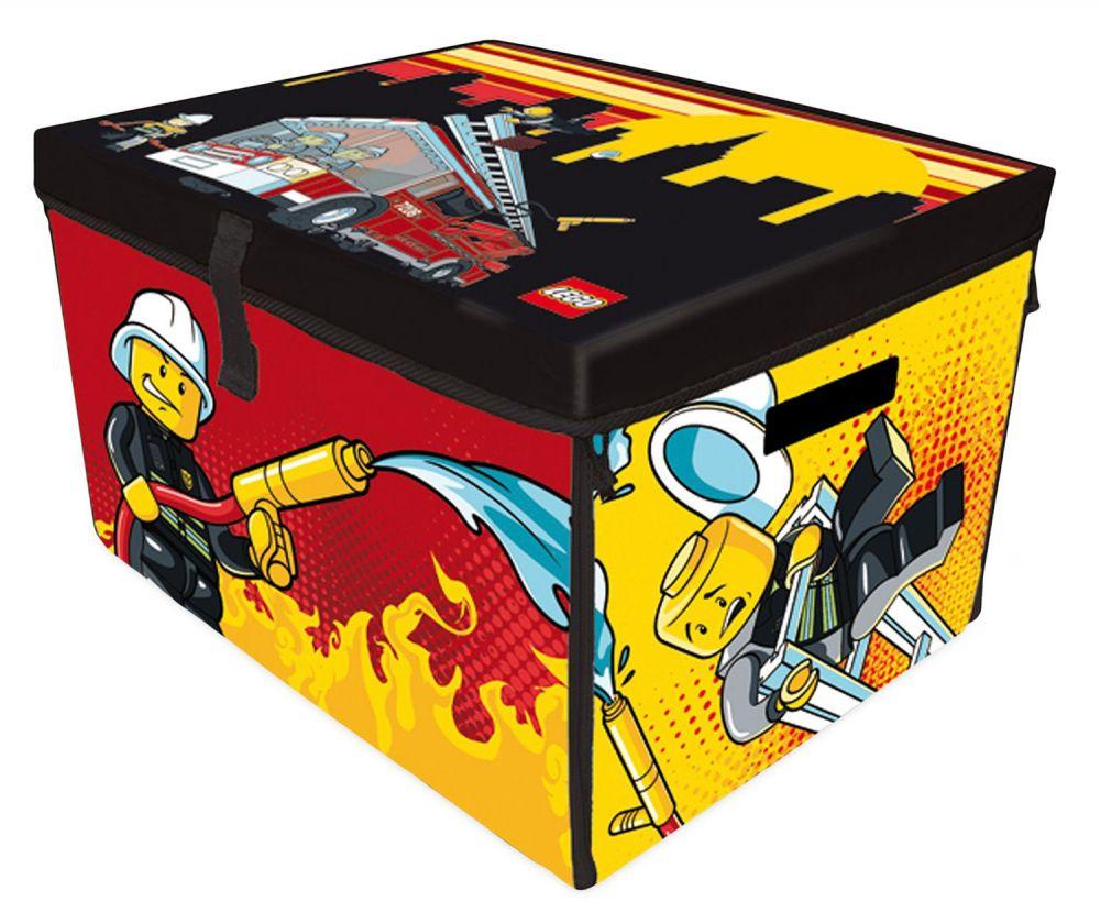 Lego Rangement A1388xx Pas Cher Lego City Zip Bin Sac Tapis Pompier Grand Mod Le