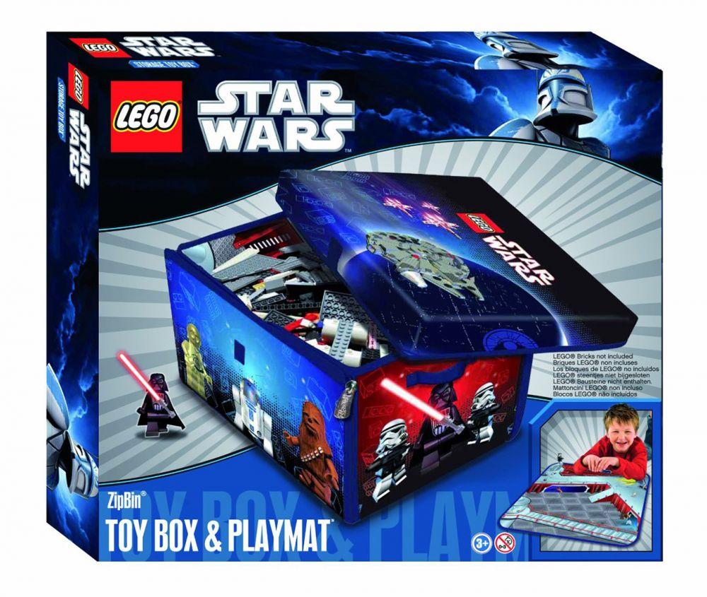 Lego rangement a1433xx pas cher star wars zipbin 3000 - Boite de rangement lego pas cher ...
