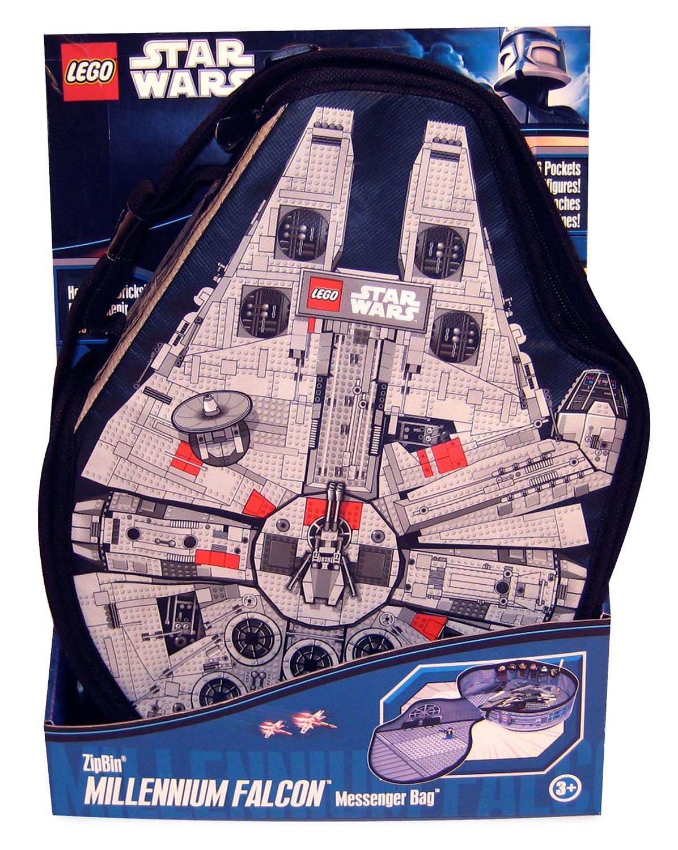 Lego rangement a1492xx pas cher star wars zipbin - Brique de rangement lego grand modele ...