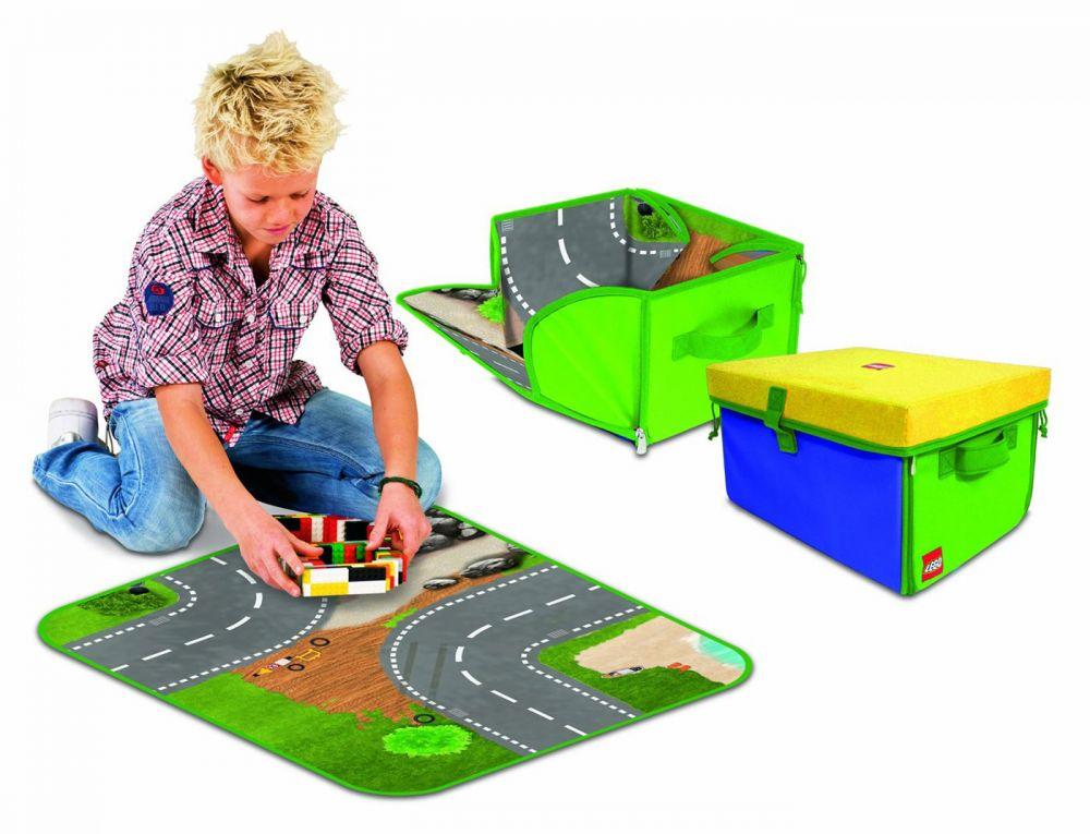 LEGO Rangement A1772XX pas cher, Moyenne boîte de rangement Lego Zipbin