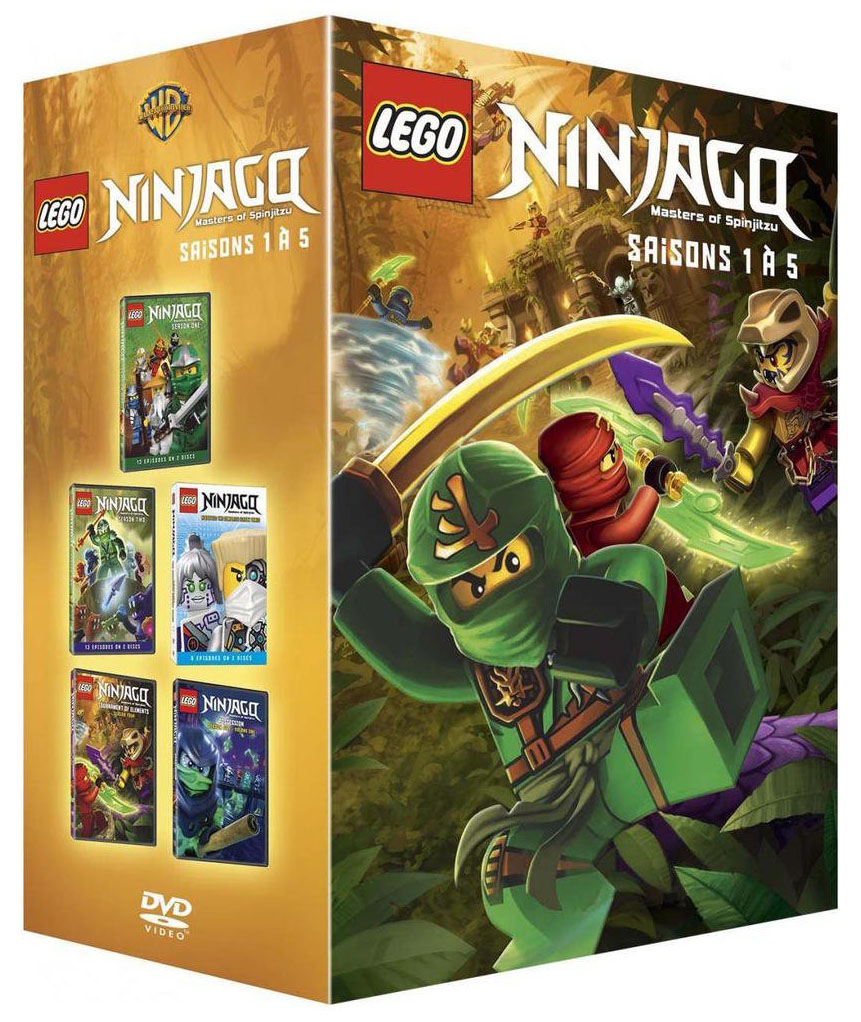 Lego vid os dvd cdvdlnis1a5 pas cher coffret dvd lego - Lego ninjago nouvelle saison ...