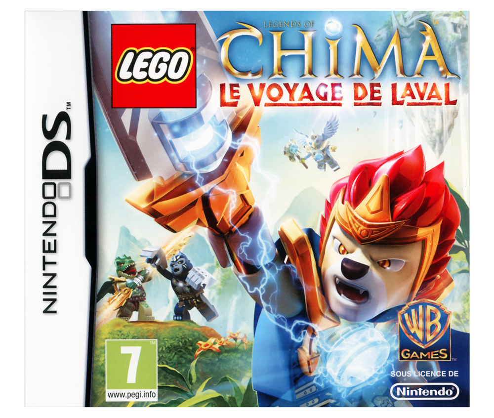 lego jeux vid o dslloclvl pas cher lego legends of chima le voyage de laval ds. Black Bedroom Furniture Sets. Home Design Ideas