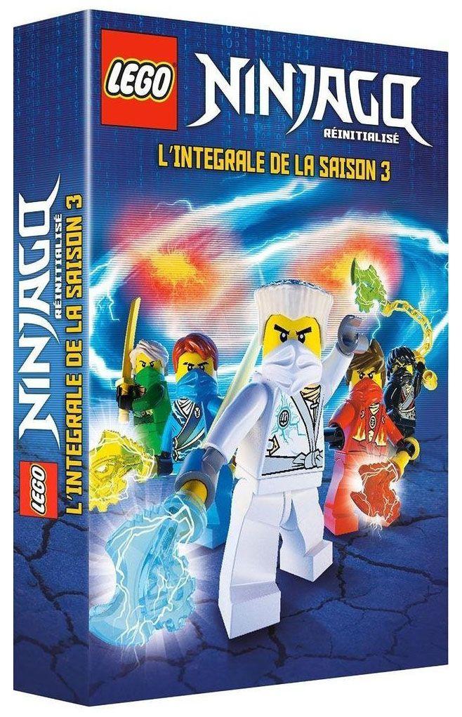 dvd lego ninjago saison 3