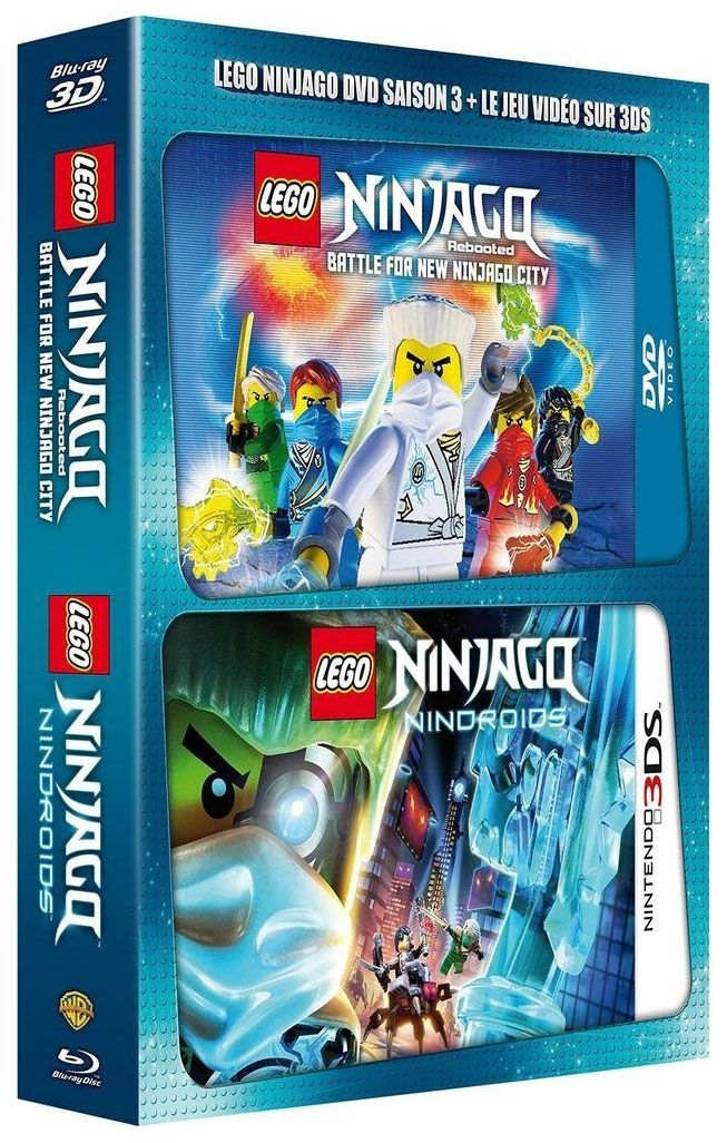 lego vid os dvd dvdlns3j3ds pas cher dvd lego ninjago saison 3 jeu nintendo 3ds. Black Bedroom Furniture Sets. Home Design Ideas