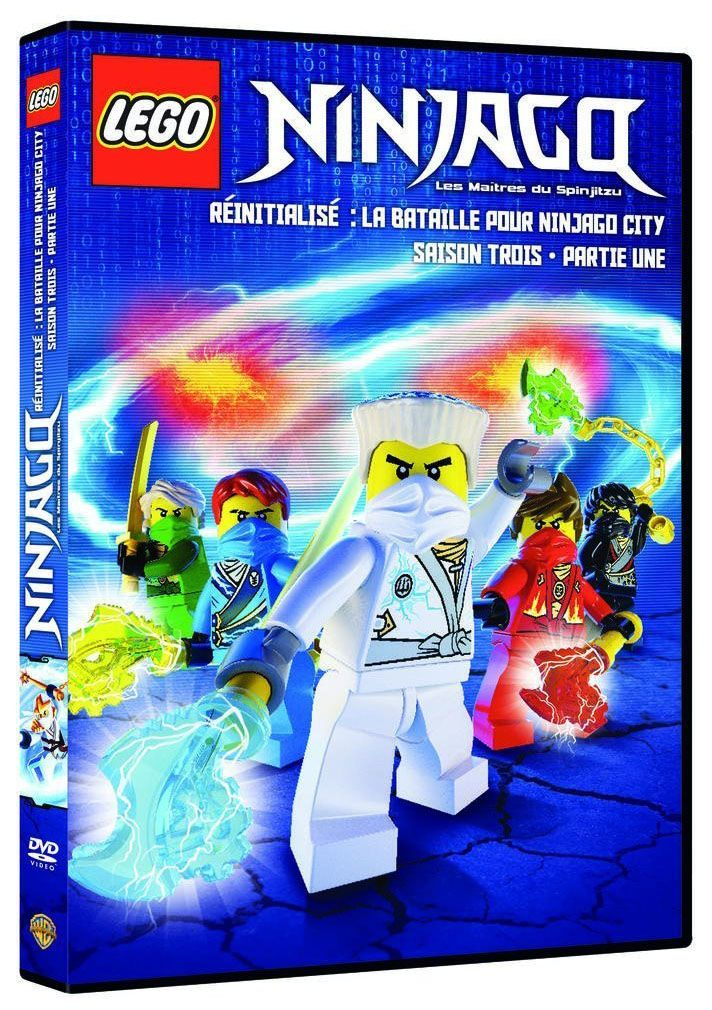 Lego vid os dvd dvdlns3v1 pas cher dvd lego ninjago - Lego ninjago nouvelle saison ...
