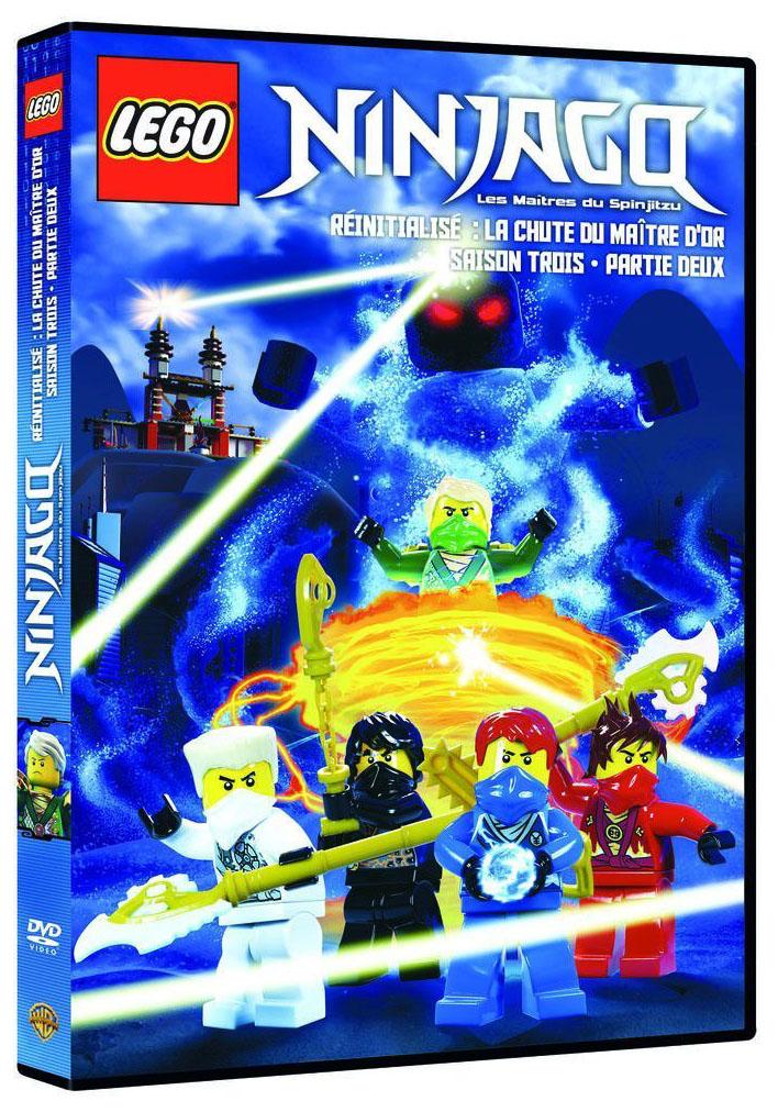 Lego vid os dvd dvdlns3v2 pas cher dvd lego ninjago - Ninjago saison 2 ...