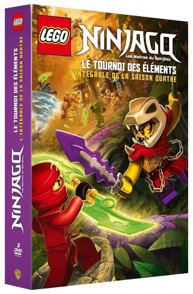 Lego vid os dvd dvdlns4 pas cher dvd lego ninjago saison 4 - Ninjago saison 7 ...