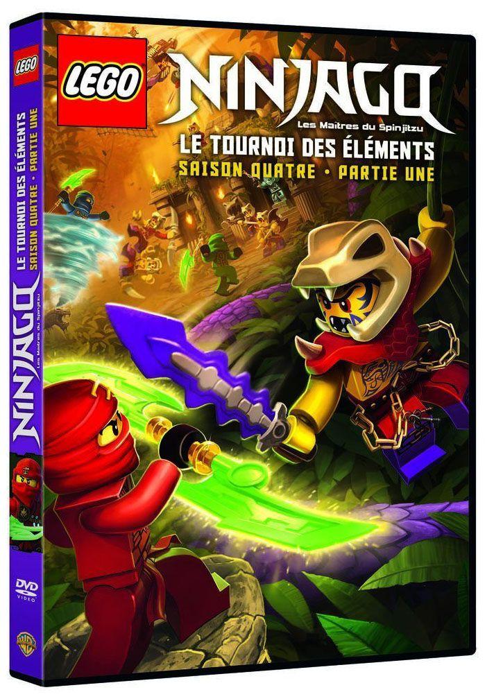 dvd lego ninjago saison 4 volume 1 - Ninjago Nouvelle Saison