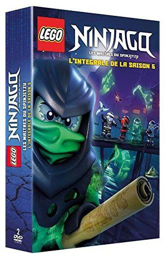 dvd lego ninjago saison 5