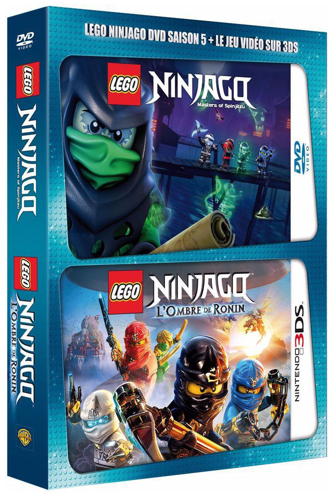 Lego vid os dvd dvdlns5j3ds pas cher dvd lego ninjago saison 5 jeu vid o nintendo 3ds - Jeux de lego sur jeux info ...
