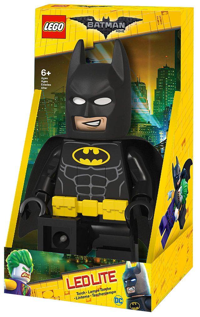 lego lampes gtob12b pas cher - lampe torche batman - lego batman movie