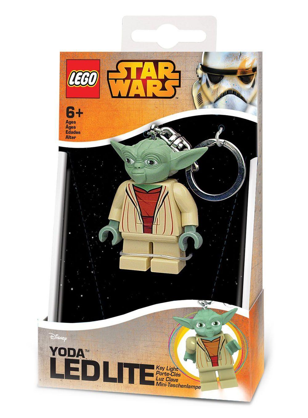 Lego porte cl s lglke11 pas cher porte cl s lumineux ma tre yoda - Maitre yoda lego ...