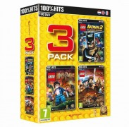 Jeux vidéo LEGO Pack 3 jeux : Batman 2 + Harry Potter + Lord of the Rings PC pas cher