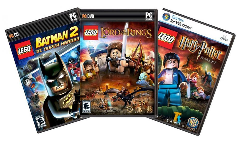 lego jeux vid o pc pas cher lego pack 3 jeux batman 2 harry potter lord of the rings pc. Black Bedroom Furniture Sets. Home Design Ideas
