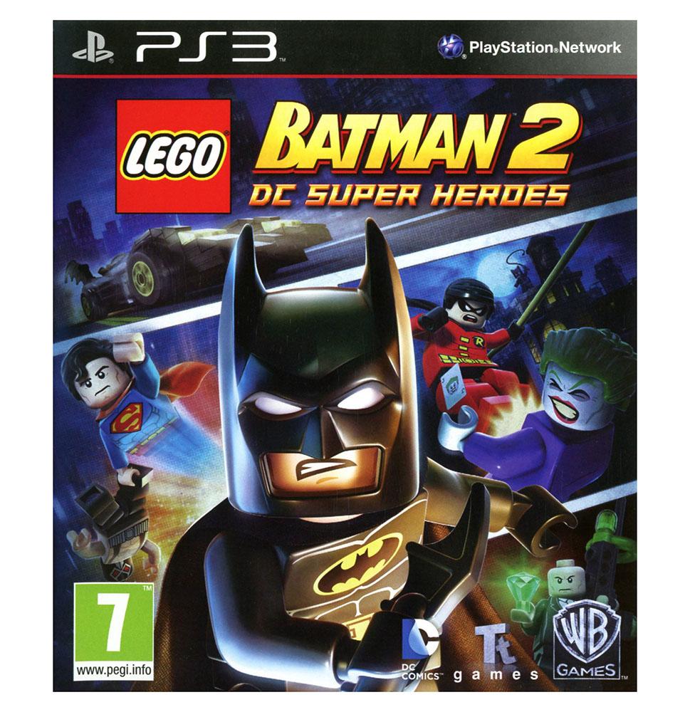 lego jeux vid o ps3dcshb2 pas cher lego batman 2 dc. Black Bedroom Furniture Sets. Home Design Ideas