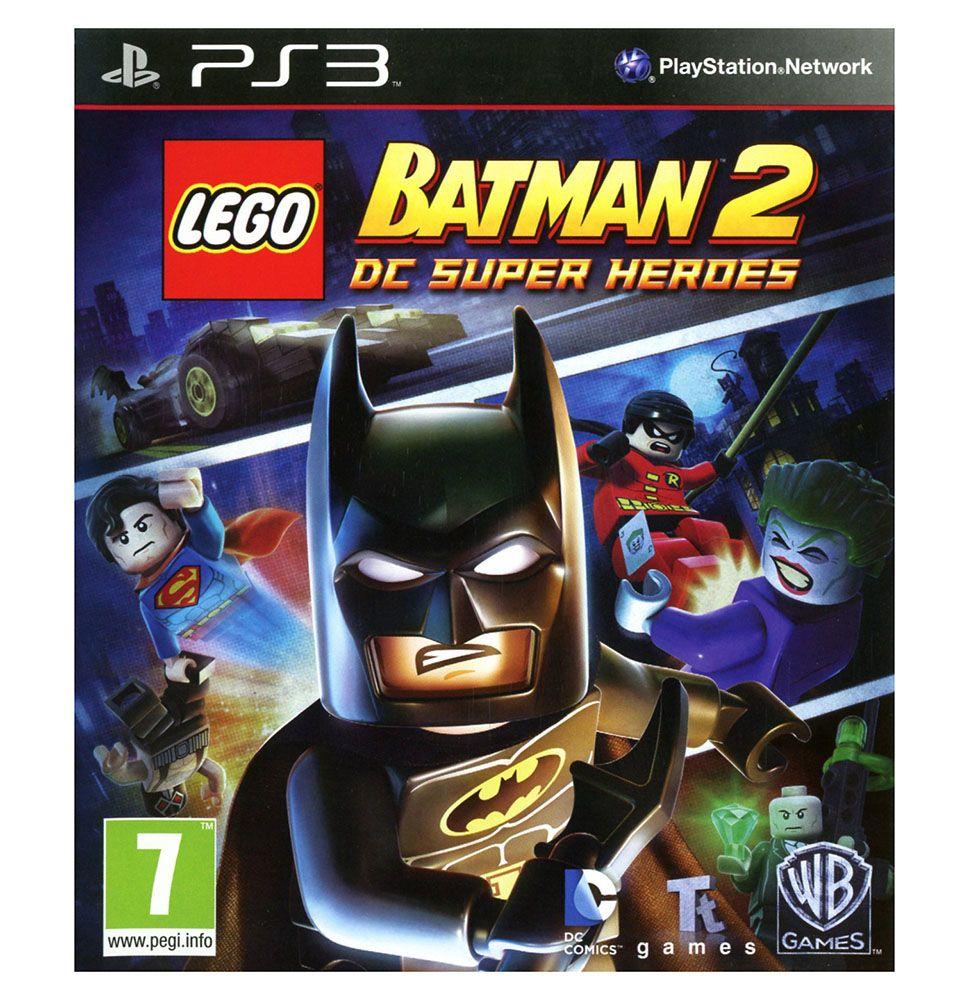 lego jeux vid o ps3dcshb2 pas cher lego batman 2 dc super heroes ps3. Black Bedroom Furniture Sets. Home Design Ideas