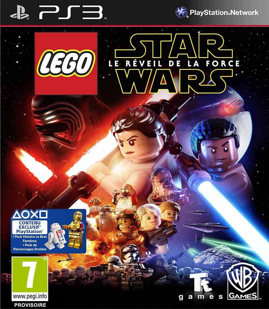 lego jeux vid o ps3swlrf pas cher lego star wars le r veil de la force ps3. Black Bedroom Furniture Sets. Home Design Ideas